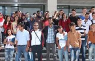 Karaman Fatih Lisesi KMÜ'yü Ziyaret Etti