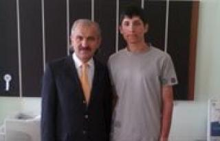 Irfan Ataseven Fen Lisesi Karaman'in Gururu Oldu...