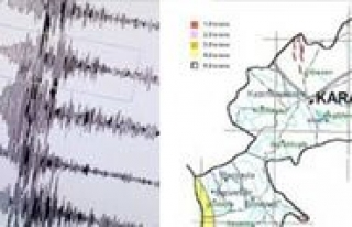 Karaman'da 3.3 Büyüklügünde Deprem