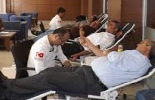 KTSO`dan Kan Bagisi Kampanyasi