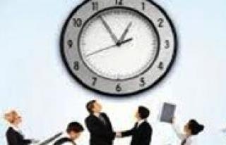 Mesai Saatleri Degisiyor