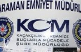 Karaman`da Bin 740 Paket Kaçak Sigara Ele Geçirildi...