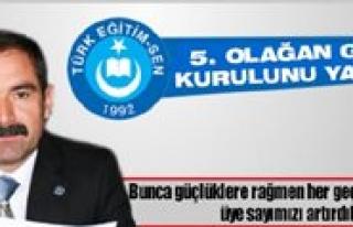 Türk Egitim-Sen Kongreye Gidiyor
