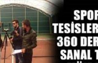 Spor Tesislerinde 360 Derece Sanal Tur Müjdesi