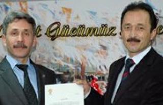 Ak Parti Merkez Ilçe Baskanligina Atama