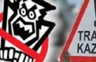 Karaman'da Iki Ayri Trafik Kazasi: 4 Yarali
