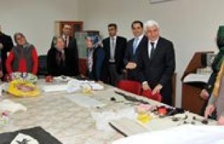 Vali Murat Koca Ayranci'da Incelemelerde Bulundu