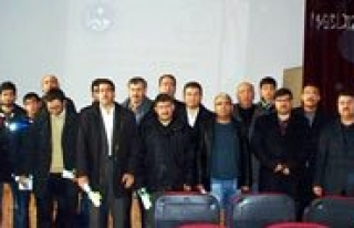 Karaman`da 314 Kisi Osmanlica Kursu Sertifikasi Aldi...