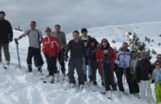 Federasyon Yetkilileri Ermenek Kayak Merkezini Inceledi