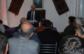 Antalya Karamanlilar Dernegi'nin Konferansina Ilgi...