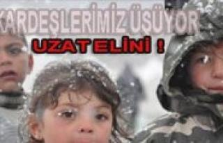 """CHP Gençlik Kollari'ndan """"Van'da Kardesin Üsüyor..."""