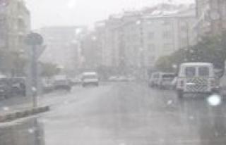 Meteoroloji: Yagmur, Karla Karisik Yagmur Ve Kar Yagisi...