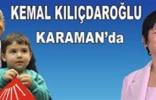 Chp Lideri Kiliçdaroglu, 17 Ocak'ta Karaman'da