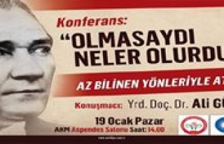 Az Bilinen Yönleriyle Atatürk Konulu Konferans