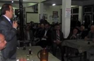 CHP'li Yöneticilerden Kilbasan Çikarmasi