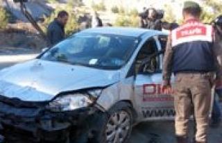 Maden Ocaginda Gazeteciler Kaza Geçirdi