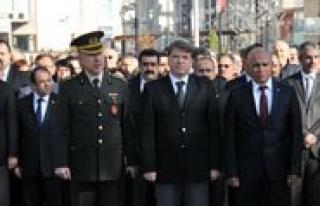 Atatürk Vefatinin 76.Yildönümünde Törenlerle...