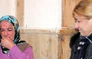 Madenci Aileleri Nevin Gökçek'i Aglatti