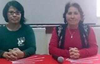 CHP Kadin Kollari: Kadinlar Yasasin!