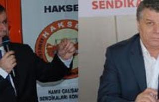 Iki Sendika Genel Baskani Yarin Karaman'da