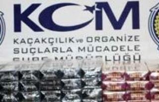Karaman`da Bin 980 Paket Kaçak Sigara Ele Geçirildi