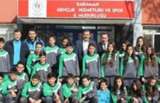 Karaman'in Altin Çocuklari Is Basinda