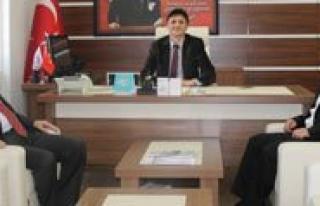 Ak Parti Il Baskani Ünlü'den Erenoglu'na Ziyaret