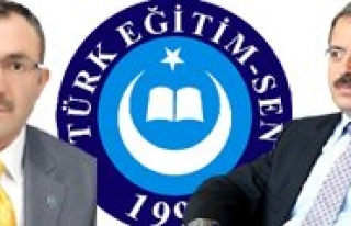 Türk Egitim-Sen'den Rektör Gökmen'e Ziyaret
