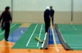 Karaman'da 19 Yas Balkan Badminton Sampiyonasi Hazirliklari...