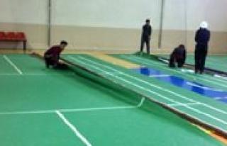 19 Yas Balkan Badminton Sampiyonasi Hazirliklari Devam...