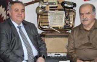 Milletvekili Aday Adayi Seker'den KGRT'ye Ziyaret