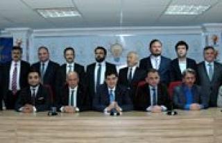 Karaman`da 13 Kisi Ak Parti`den Aday Adayligi Için...