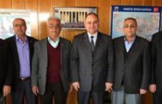 Kantürk'den Ticaret Borsasina Ziyaret