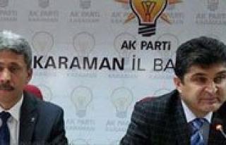 """AK Parti Il Baskani Ünlü: """"En Büyük Dil Kadinlarimizin..."""