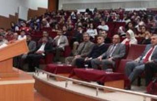 KMÜ'de Istiklal Marsi Sairi Mehmet Akif Anildi