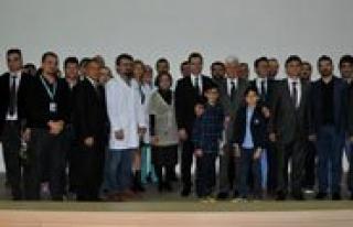 Karaman'da 14 Mart Tip Bayrami Kutlandi