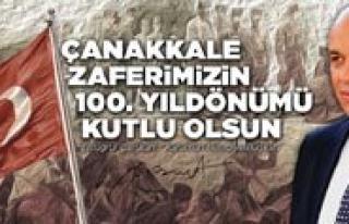 """Çaliskan: """"Çanakkale Zaferi Türk Milletinin Kahramanlik..."""