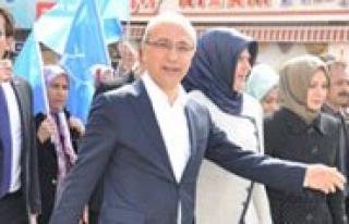 Bakan Elvan Yarin Karaman'da
