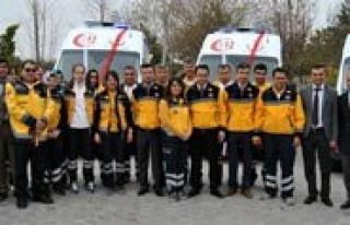 Karaman'a 6 Yeni Ambulans
