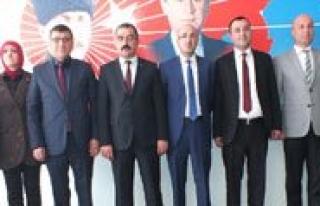 MHP Adaylarini Tanitti