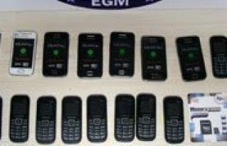 Karaman'da 87 Kaçak Cep Telefonu Ele Geçirildi...