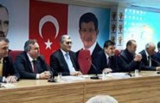AK Parti'nin Aday Tanitim Toplantisi 16 Nisan'da