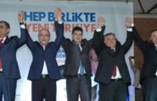AK Parti Karaman Adaylarini Tanitti