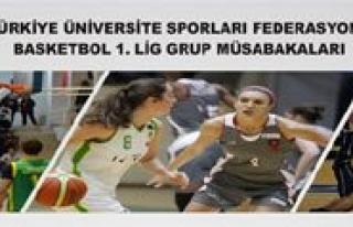 Üniversiteler Arasi Basketbol Müsabakalari KMÜ'de...