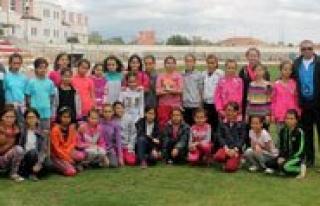 Karaman'da Gelecegin Milli Atletleri Yetisiyor