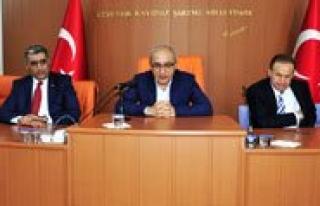 """Bakan Elvan: """"Gönlümüz, Aklimiz, Ruhumuz Daima..."""