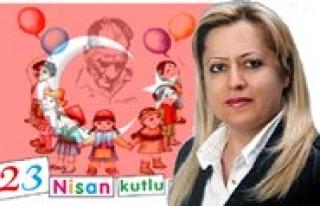 ADD Baskani Sanlitürk: 23 Nisan Türk Halkinin Egemenligini...