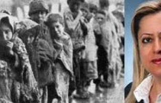 Sanlitürk: Ermeni Soykirimi Tarihin Çarptirilmasidir