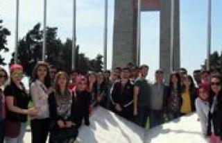 KMÜ Ögrencilerinden Çanakkale Gezisi