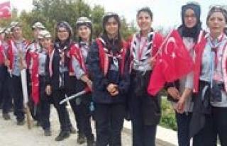 "Karamanli Izciler Çanakkale'de ""Dedecigim Ben..."